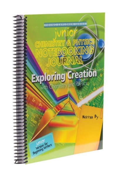 Exploring Creation With Chemistry Junior Notebooking Journal